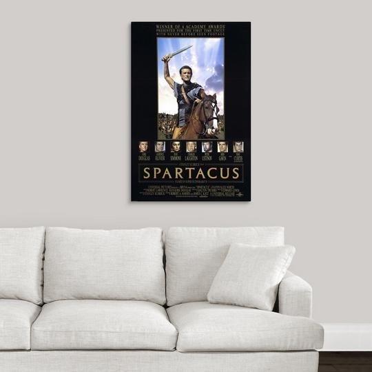"/""Spartacus /"" Canvas Art Print 1961"