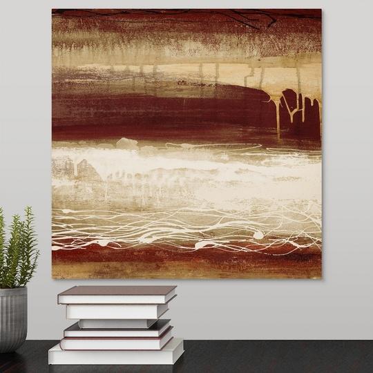 """Canvas Art Print /""""Red Wahn I/"""""""