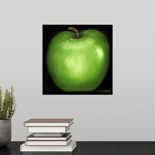 "Poster Print /""Green Apple/"""