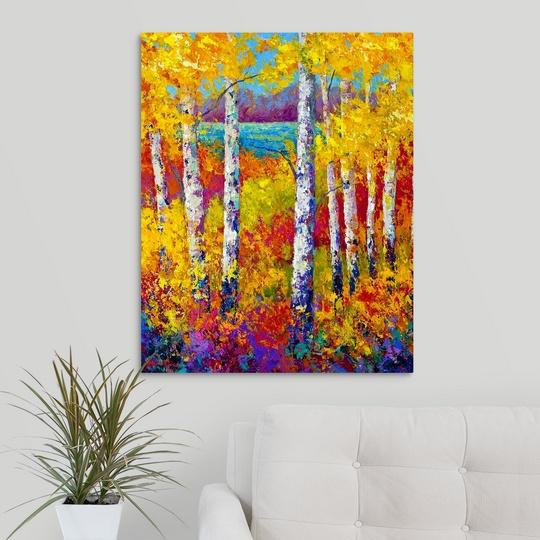 "/""Autumn Patchwork/"" Canvas Art Print"