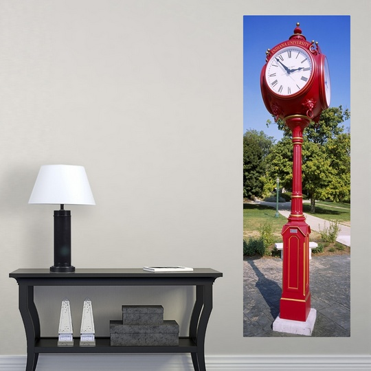 "Poster Print /""Clock in a park Bloomington Monroe County Indiana University"