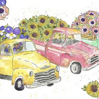 Flower Truck Collection A