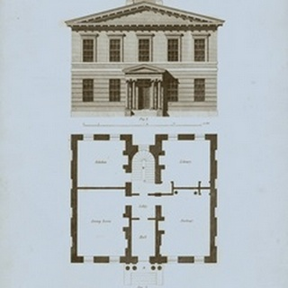 Chambray House and Plan IV