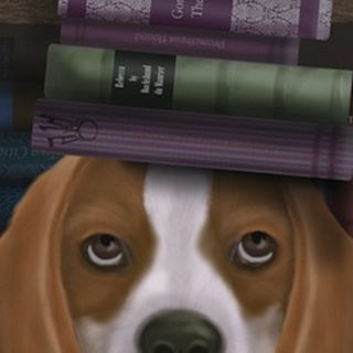 Beagle and Books