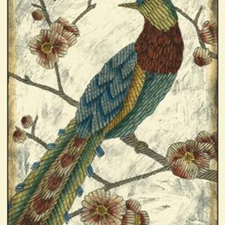 Embroidered Pheasant I