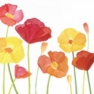 Simply Poppies I