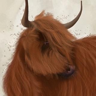 Highland Cow 2, Portrait