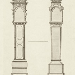 Chippendale Clock Cases II
