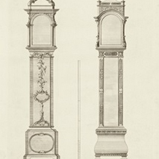 Chippendale Clock Cases I