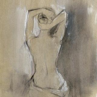Contemporary Draped Figure I