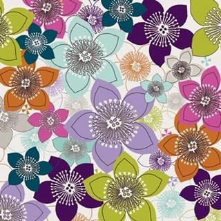 Boho Floral I
