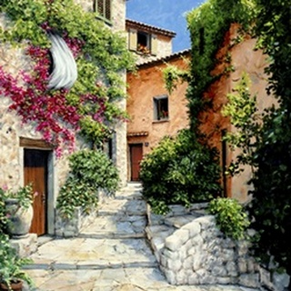 In the Alpes-Maritime, Provence