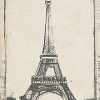 Sketch of Eiffel