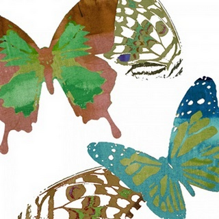 Scattered Butterflies I