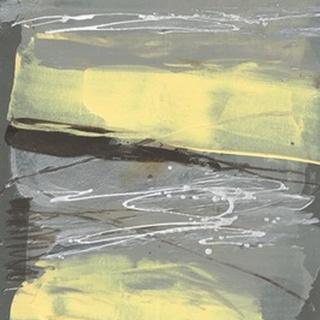 Lemon & Silver Swipe I