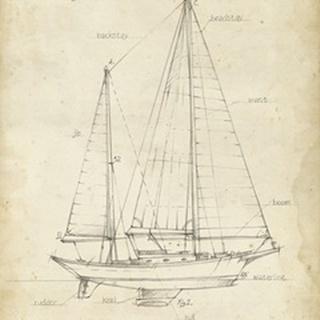 Sailboat Blueprint VI