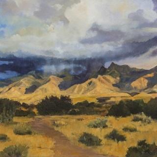 Desert Mountain Light
