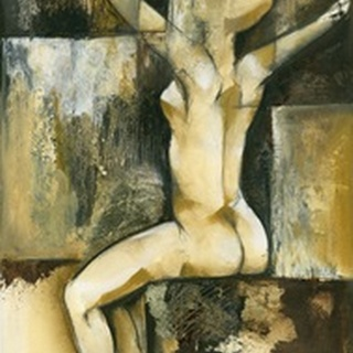 Contemporary Seated Nude II