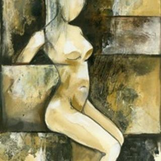 Contemporary Seated Nude I