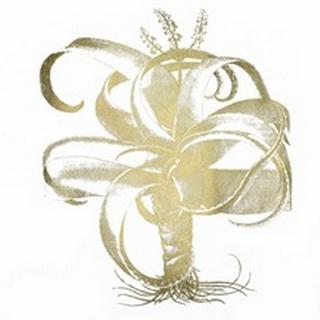 Gold Foil Aloe I