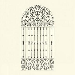 BandW Wrought Iron Gate III
