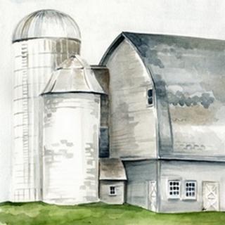 Watercolor Barn II