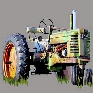 Vintage Tractor VII