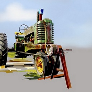 Vintage Tractor V