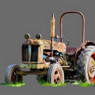 Vintage Tractor X