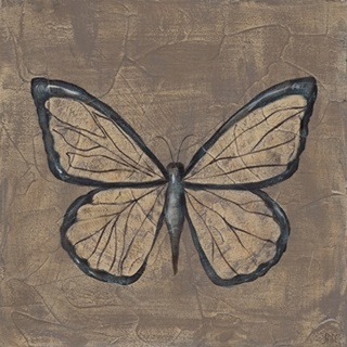 Textured Butterfly I