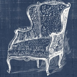 Antique Chair Blueprint III