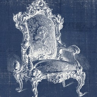 Antique Chair Blueprint II