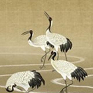Cranes on Gold II