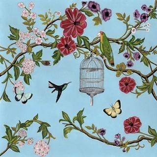 Bird Song Chinoiserie I