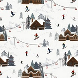 Ski Slope Collection E