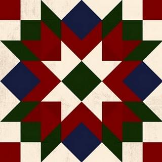 Christmas Barn Quilt IV