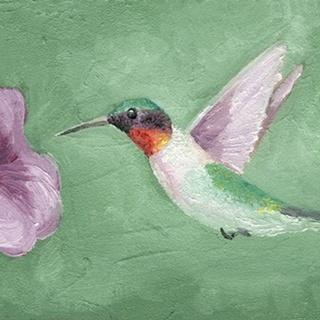 Fresco Hummingbird II