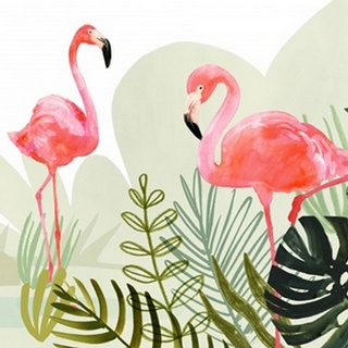 Flamingo Forest Collection A
