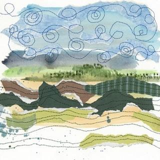 Stitched Landscape IV