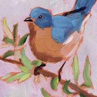 Painted Songbird I