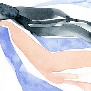Watercolor Ribbon IV