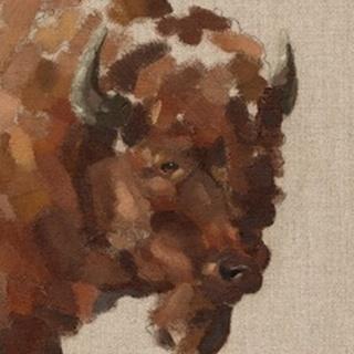 Tiled Bison I