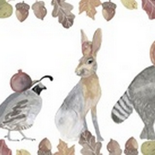 Cute Autumn Forest Collection D