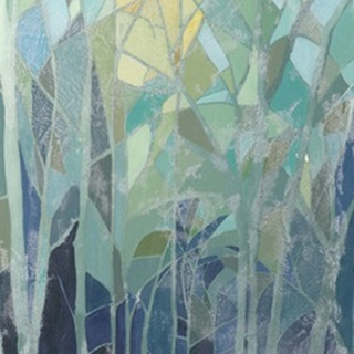 Stained Glass Forest II