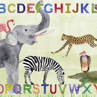 Alphabet Animals Collection A