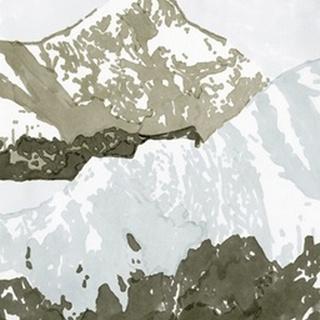Watercolor Mountain Retreat III