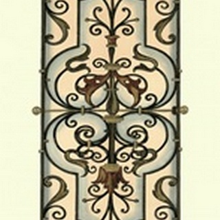 Printed Wrought Iron Panels II