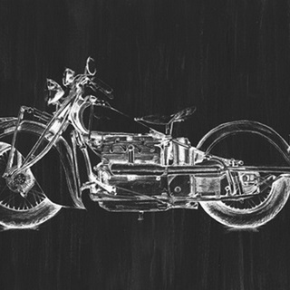 Motorcycle Graphic I