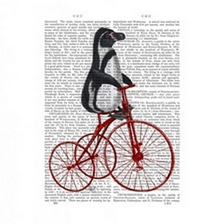 Penguin on Bicycle