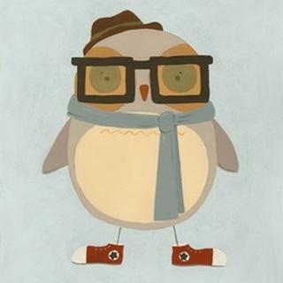 Hipster Owl II